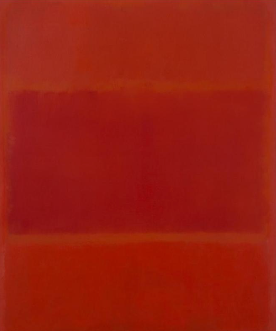 Red and Orange, 1955