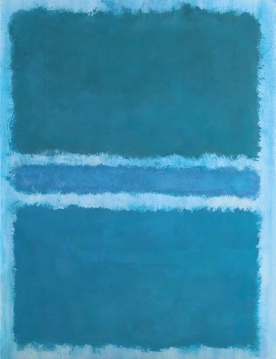 Untitled (lue divided by Blue), 1966