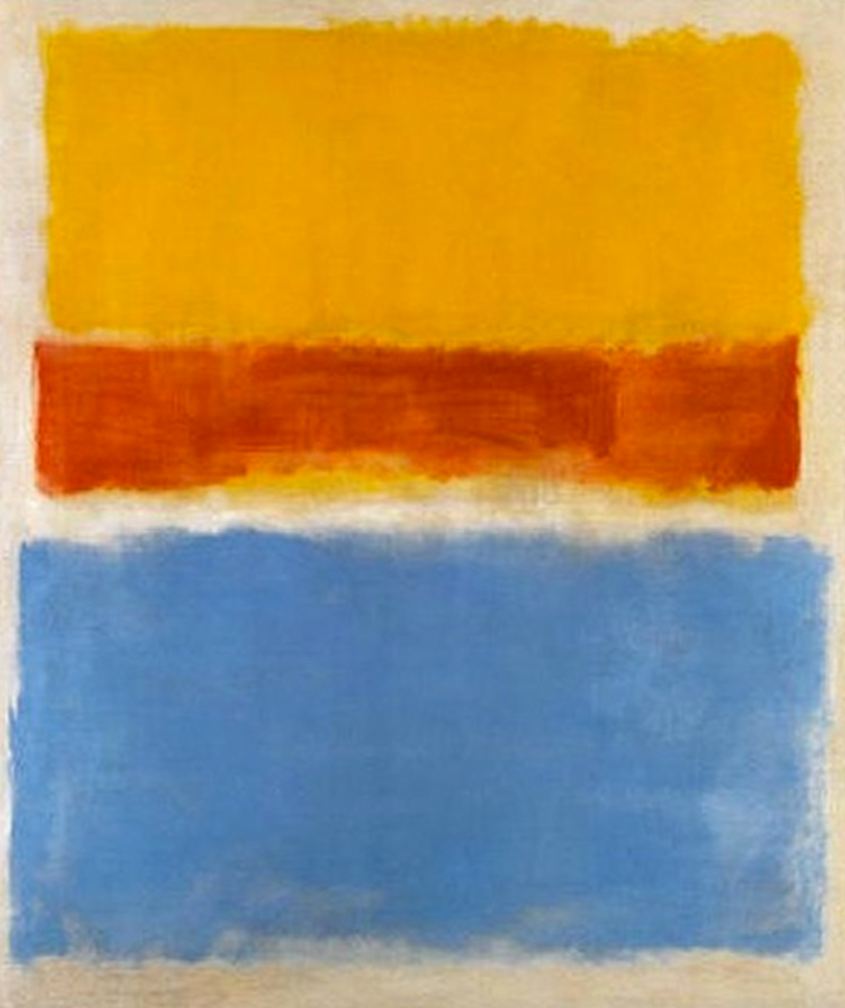 Yelloe, Red and Blue, 1953