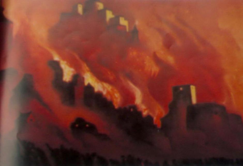 Armageddon - Nicholas Roerich
